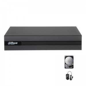 XVR DVR IBRIDO CLOUD DAHUA 5in1 AHD CVI TVI CVBS IP 4 CANALI UTC FULL HD P2P 1 TB