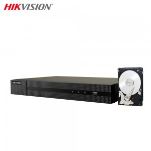 NVR 4 CANALI HIKVISION HWN-4104MH-4P 4K 8MPX ONVIF POE H.265+ CLOUD P2P 2TB HDD