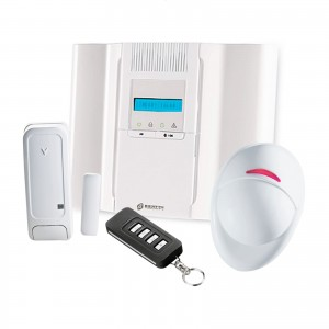 KIT ANTIFURTO WIRELESS CASA ALLARME BENTEL BW64-K