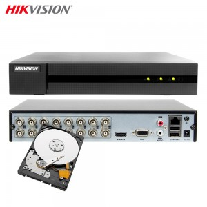 HIKVISION HWD-6116MH-G2 DVR 5IN1 16 CANALI UTC 4 MPX TURBO HD 2 TB
